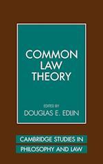 Common Law Theory af David Lyons, Stephen R Munzer, Philip Pettit