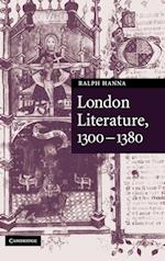 London Literature, 1300-1380 af Ralph Hanna