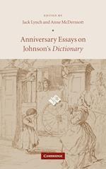 Anniversary Essays on Johnson's Dictionary