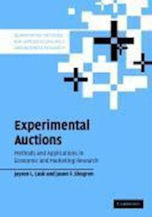 Bog, hardback Experimental Auctions af Jason Shogren, Jayson L Lusk