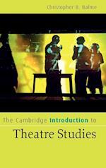 The Cambridge Introduction to Theatre Studies af Balme