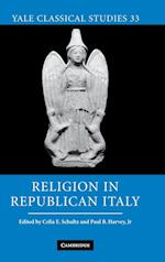 Religion in Republican Italy af Celia E Schultz, Paul Harvey