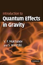 Introduction to Quantum Effects in Gravity