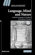 Language, Mind and Nature af Rhodri Lewis