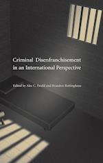 Criminal Disenfranchisement in an International Perspective