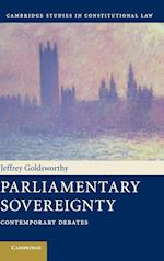 Parliamentary Sovereignty (Cambridge Studies in Constitutional Law, nr. 1)