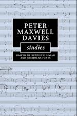 Peter Maxwell Davies Studies af Kenneth Gloag, Nicholas Jones