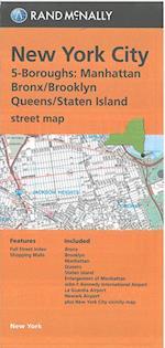 Rand McNally, New York City 5-Boroughs