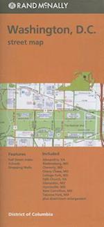 Rand Mcnally Washington D.C. Street Map