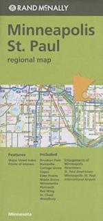 Rand McNally Regional Map Minneapolis / St. Paul, Minnesota