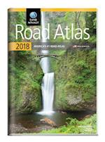Rand Mcnally 2018 Road Atlas with Vinyl Protective Cover (Rand McNally Road Atlas United States CanadaMexico GIFT EDITION)