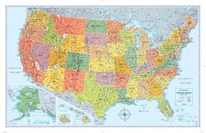 Signature Edition U.S. Wall Map (Folded)