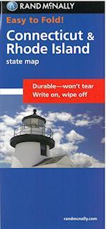 Easy Finder Map Connecticut/Rhode Island (Easyfinder Maps)