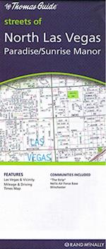 Las Vegas North: Paradise - Sunrise Manor - The Strip 1:15.000