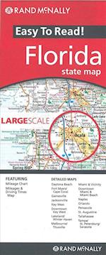 Rand McNally Easy to Read Florida State Map (Rand Mcnally Easy to Read)