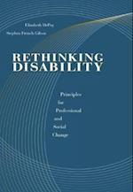 Rethinking Disability (Disabilities)