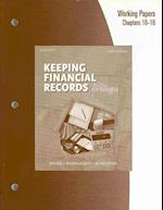 Working Papers, Chapters 10-16 for Kaliski/Schultheis/Passalacqua's Keeping Financial Records for Business, 10th