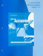 Century 21 Accounting Working Papers Chapters 1-16 af Mark W Lehman