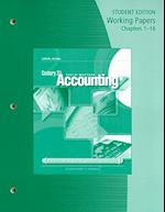 Working Papers, Chapters 1-16 for Gilbertson/Lehman's Century 21 Accounting: General Journal, 9th af Mark W Lehman