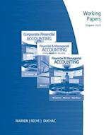Working Papers, Chapters 16-27 for Warren/Reeve/Duchac's Financial & Managerial Accounting, 11th