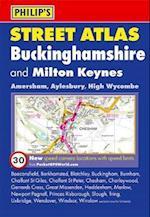 Philip's Street Atlas Buckinghamshire (Philip's Street Atlases)
