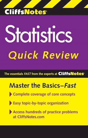 CliffsNotes Statistics Quick Review, 2nd Edition af Scott Adams