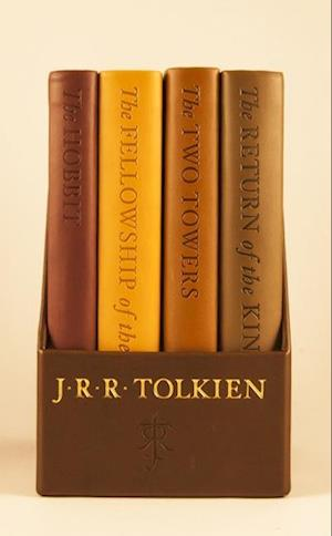 Bog, paperback The Hobbit and the Lord of the Rings af J R R Tolkien