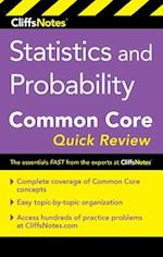 CliffsNotes Statistics and Probability Common Core Quick Review (Cliffsnotes)