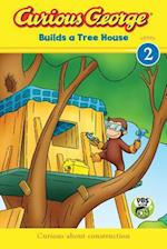 Curious George Builds a Tree House (Green Light Readers. Level 2)