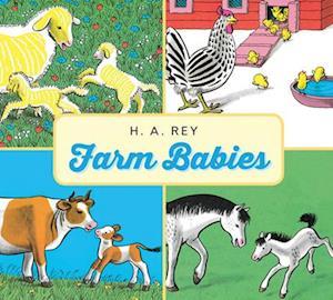 Bog, hardback Farm Babies af H A Rey