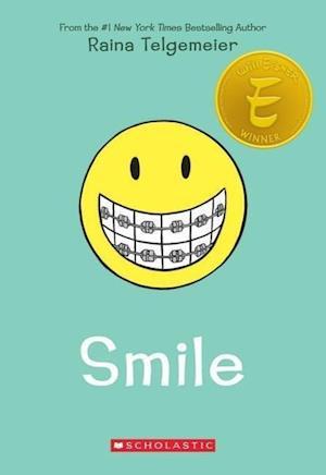 Bog, paperback Smile af Raina Telgemeier