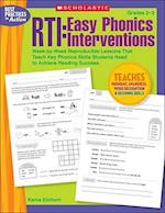 RTI: Easy Phonics Interventions