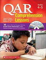 Qar Comprehension Lessons Grades 4-5