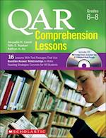 QAR Comprehension Lessons Grades 6-8 (Teaching Resources)