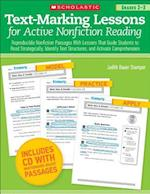 Text-Marking Lessons for Active Nonfiction Reading Grades 2-3