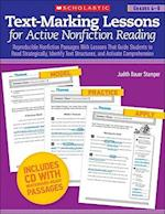 Text-Marking Lessons for Active Nonfiction Reading Grades 4-8