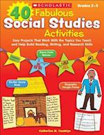 40 Fabulous Social Studies Activities Grades 2-3