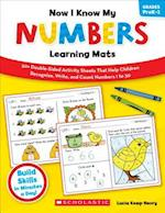 Now I Know My Numbers Learning Mats, Grades PreK-1 (Learning Mats)