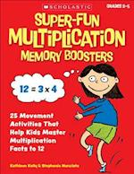 Super-Fun Multiplication Memory Boosters af Kathleen Kelly, Stephanie McLaughlin