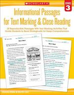 Informational Passages for Text Marking & Close Reading (Informational Passages for Text Marking Close Reading)