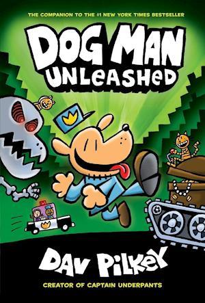 Bog, hardback The Adventures of Dog Man: Unleashed af Dav Pilkey