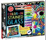 Color in Stained Glass [With Marker]