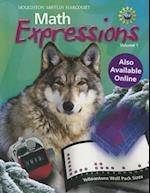 Math Expressions, Volume 1 af Sybilla Beckmann, Karen C. Fuson