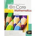 On Core Mathematics Grade 1 (Houghton Mifflin Harcourt Common Core)