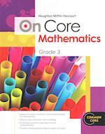 On Core Mathematics Grade 3 (Houghton Mifflin Harcourt Math Common Core)