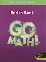 Go Math! Enrich Book 3 Grade 3 (Houghton Mifflin Harcourt Go Math)