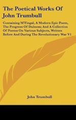 The Poetical Works of John Trumbull af John Trumbull