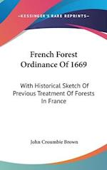 French Forest Ordinance of 1669