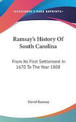 Ramsay's History of South Carolina
