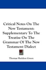 Critical Notes on the New Testament